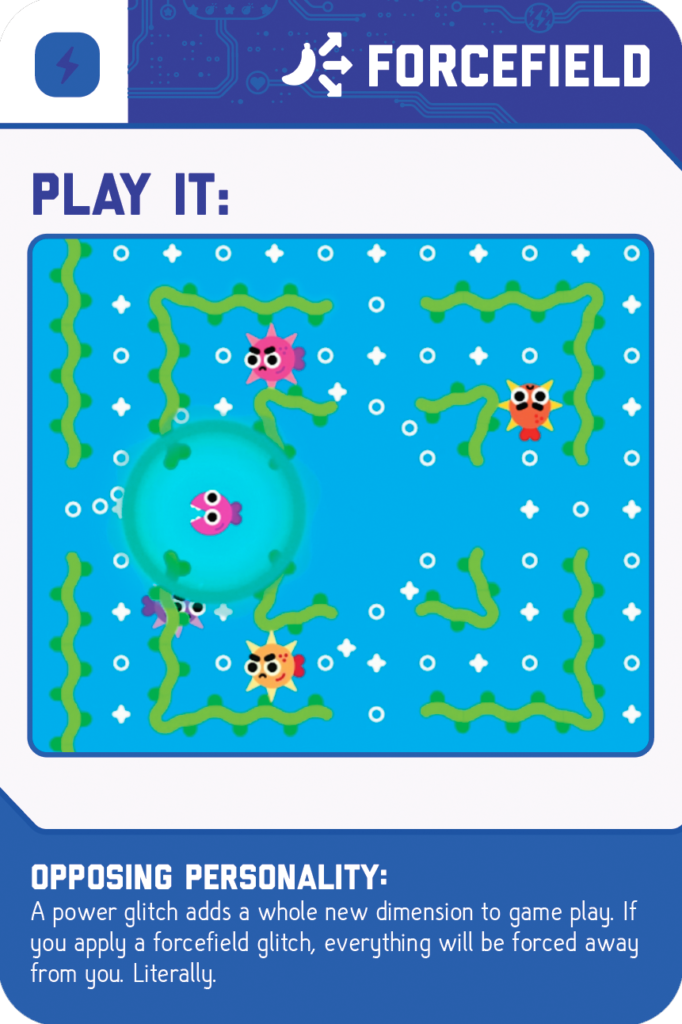 GameBender Glitch Card - Forcefield