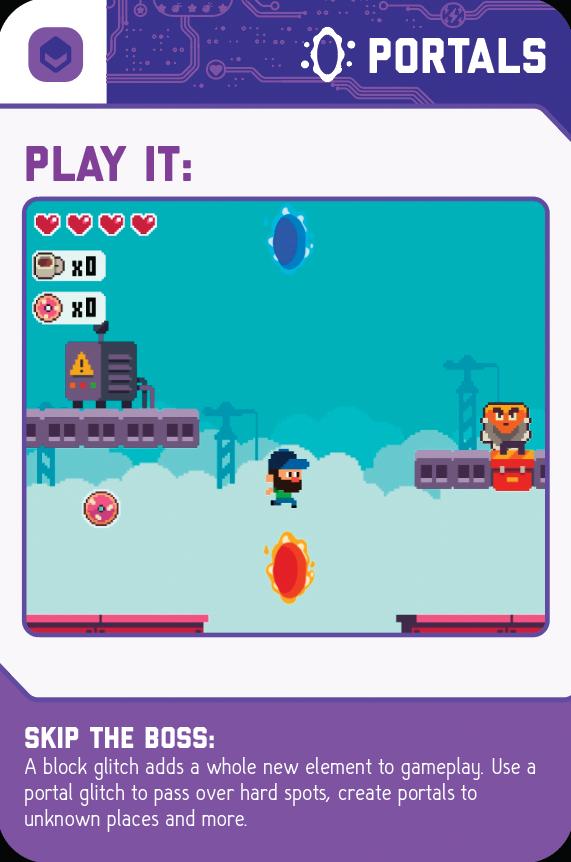 GameBender Glitch Card - Portals